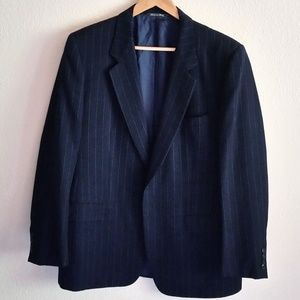 Ermenegildo Zegna Striped Blazer Suit Jacket